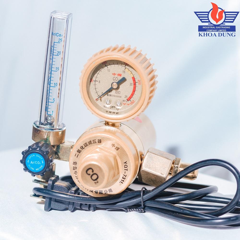 Đồng hồ CO2 TQ