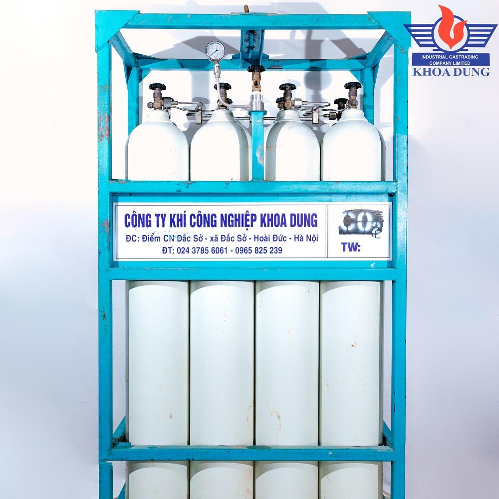Pallet khí O2ArCO2N2Hỗn hợp
